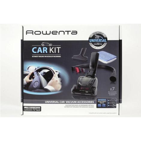 kit accessoires aspirateur pour voiture - zr001110 - rowenta