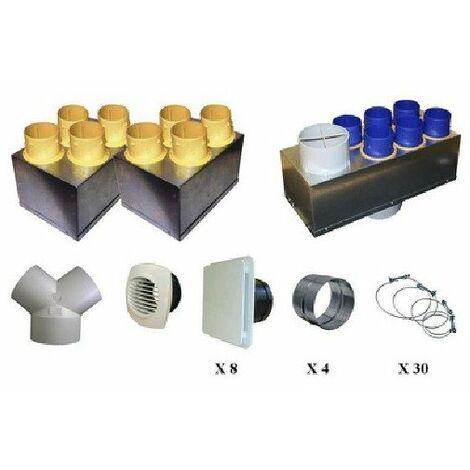 Kit accessoires vmc double flux p08 unelvent akhor hr
