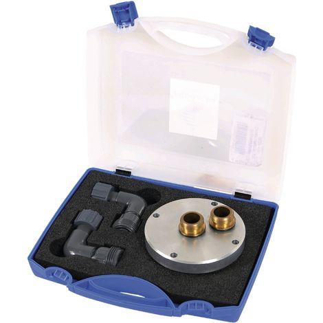 Kit accouplement accélérateur 4050 pour adaptation circuit détartrage ou désembouage installation