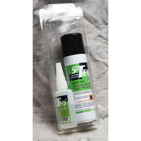 Kit adhesivo 5-TEQ 152 50GR+Activador 156 150ML