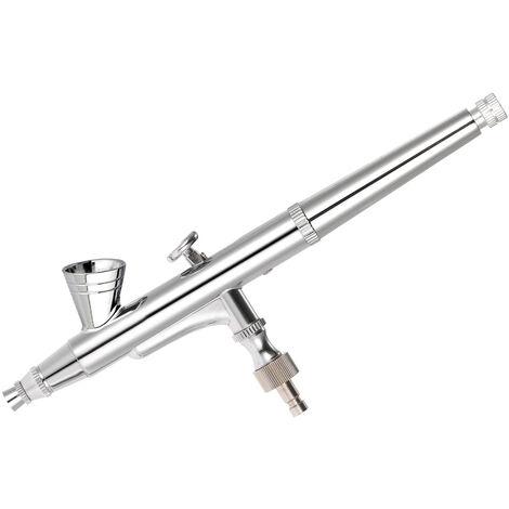 """main image of """"Kit aerographe KKmoon calibre 0,25 mm, aerographe double action beaute et ongles avec cle et compte-gouttes TD-135"""""""