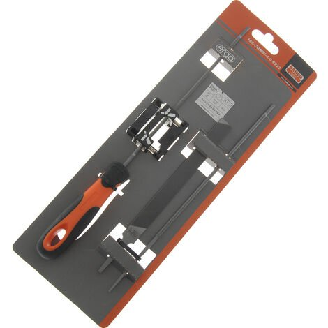 Kit affutage manuel professionnel Bahco pour tronçonneuse 4mm