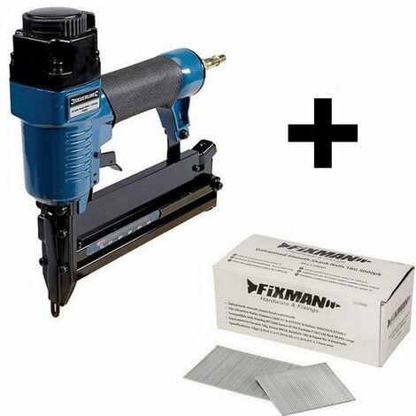 Kit Agrafeuse cloueuse pneumatique 50 mm + 5000 clous
