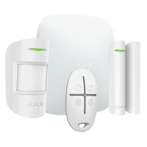 KIT Alarma Inalambrica para el Hogar y Oficinas Profesional GPRS Ethermet Ajax Aj-hubkit-w in