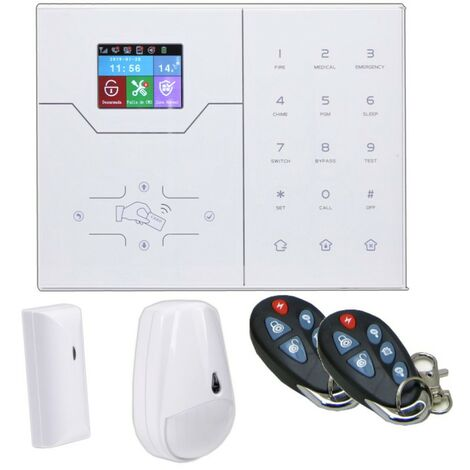 Kit Alarma IP Gsm Web Android Ios Hogar Y Oficina Via Radio