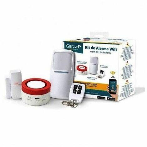 Kit alarma WIFI GARZA SMART HOME 401280