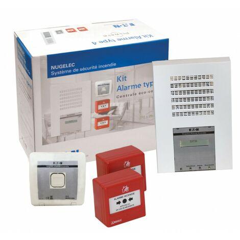 Kit alarme incendie type 4 radio