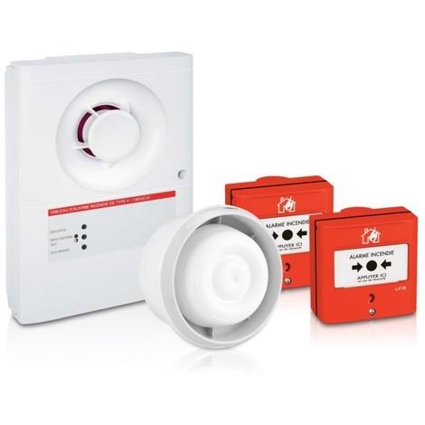Kit alarme incendie type 4 - Ura