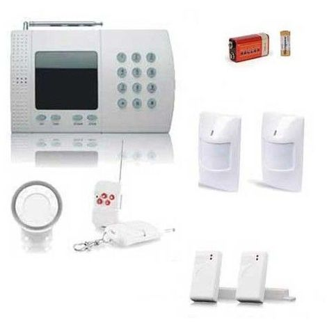 KIT alarme maison de 6 Zones, Medium BOX Appartement
