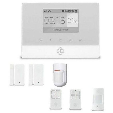 kit alarme maison sans fil gsm appure appartement appurex2. Black Bedroom Furniture Sets. Home Design Ideas