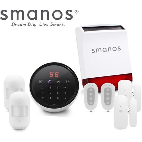 Kit alarme SMANOS maison connectée IP W100S