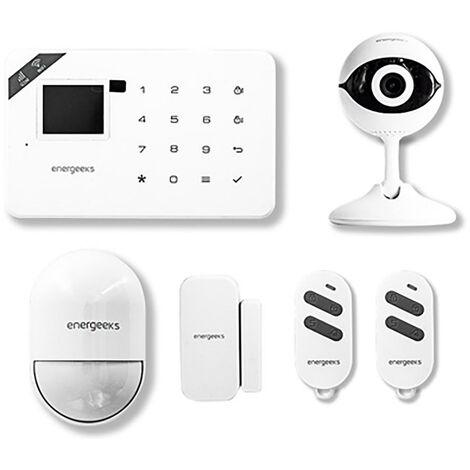 Kit alarme Wifi/Gsm + cam�ra Ip Accessoire plastique blanc Energeeks Eg-Awg001Plus