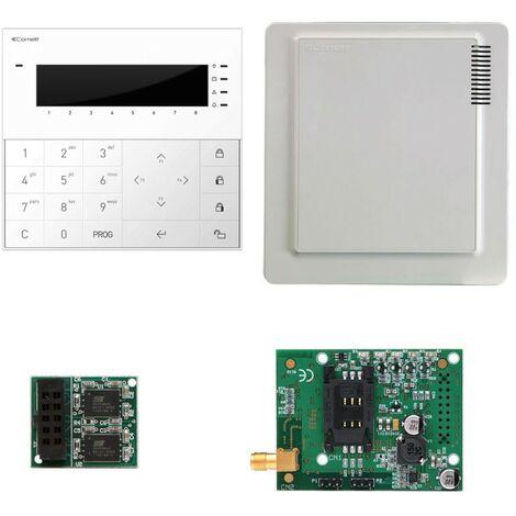 Kit allarme Comelit Vedo10 con GSM,Centrale,Tastiera VEDO10GSM
