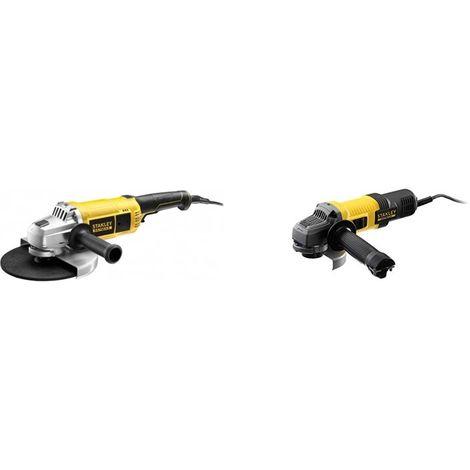 KIT: Amoladora 2.200W 230mm + Mini-Amoladora 850W 115mm STANLEY CPROF488 (1 unidad)