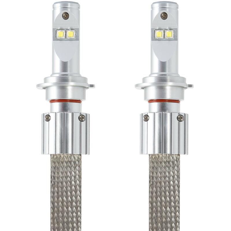 KIT Ampoules LED CREE H4 35W pour voiture ou moto Blanc Froid 6000K - Blanc Froid 6000K