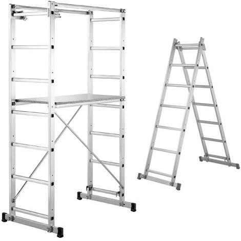 Kit Andamio Multifuncion Aluminio Uso domestico