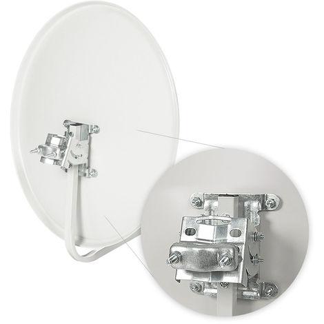 Montar y fijar la antena parabólica