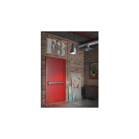 Kit anti-panique FAPIM OLTRE - PushBar 3 points latéraux - Blanc 9010 - 8826L/32