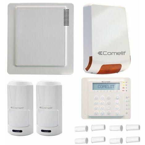 Kit anti-Robo de Comelit con el centro de I Véase el punto 10,de la Sirena y 2 sensores,teclado y contactos KITVEDO10EN
