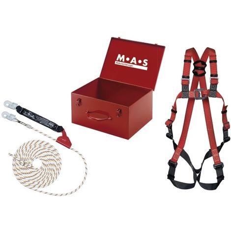 Kit antichute harnais MAS 30 / PSA couvreur-Set 10m