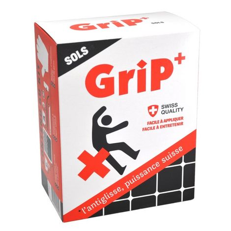 Kit antidérapant antiglisse complet GriP + Sols transparent 2 m²