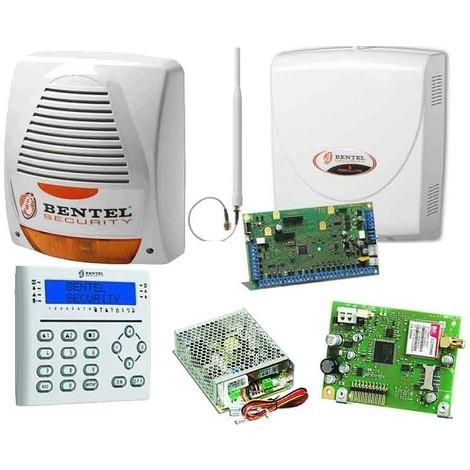 Kit Antifurto per casa Bentel con centrale Absolute, sirena,combinatore GSM e tastiera