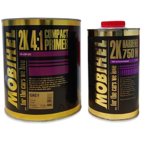 KIT APAREJO MOBIHEL 4:1 + ENDURECEDOR 3,5 LT + 1 LT