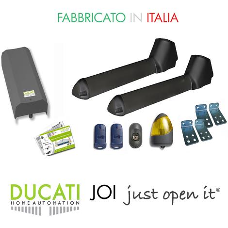 Kit Apricancello Due Ante.Kit Apricancello Ducati Sw3000 Fc Con Fine Corsa Automazione 12v