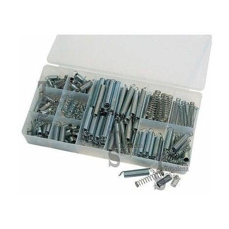 Kit Assortimento Set Molle A Compressione A Trazione Box 200 Pezzi Varie Misure