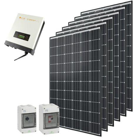 Kit autoconsommation solaire Qcells 1800 Wc onduleur central Omnik