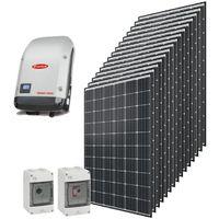 Kit autoconsommation solaire Qcells 6000 Wc onduleur central Fronius