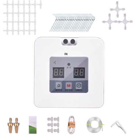 Kit automatico de riego por goteo, Dispositivo de riego automatico,Set Basico 2