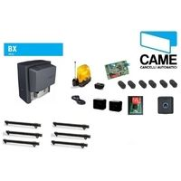 Kit AUTOMATION sliding BX-78 800Kg 230V U2643 + RACK 6MT CGZP CAME+