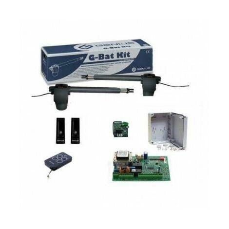 Kit automatisation de portail battant G-BAT pour automatismes jusqu'à 3 m pour porte GENIUS - FAAC