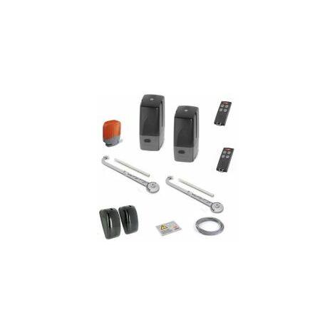 Kit automatisme bras coulissant série BL824, avec batterie, pour portaail battant. - CARDIN - - KTBL824DCB.