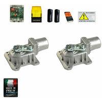 Motori Per Cancelli A Due Ante.Kit Cancello Battente Due Ante Motore Braccio Articolato Al Miglior