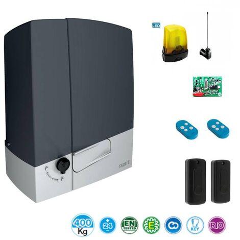 Kit automazione cancello scorrevole CAME Connect BXV 400Kg 24V BXV04AGS - 8K01MS-003