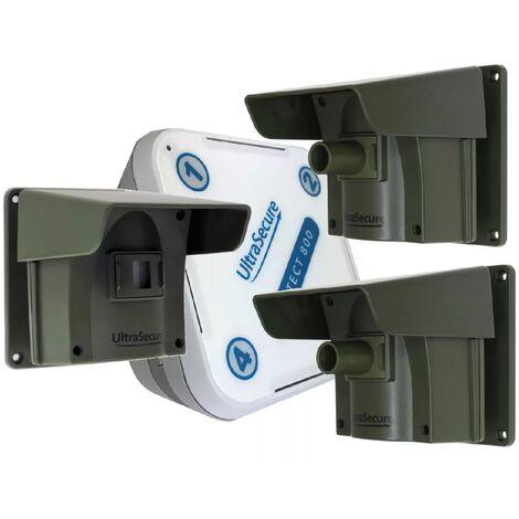 Kit avancé 2 Protect 800 - alerte de passage sans fil longue distance (1 récepteur, 3 détecteurs)