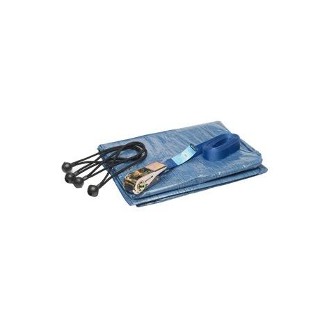 Kit bâche de remorque avec sangle - Green Valley 5123140