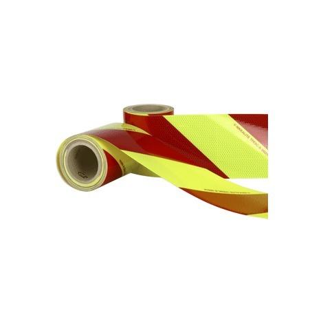 Kit balisage véhicule secours ou incendie adhésif - 2 rouleaux (D et G) de 9m - Classe 2 - 3340082
