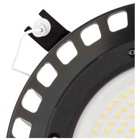 Kit Base + Sensor Crepuscular para Campanas LED UFO SAMSUNG Negro