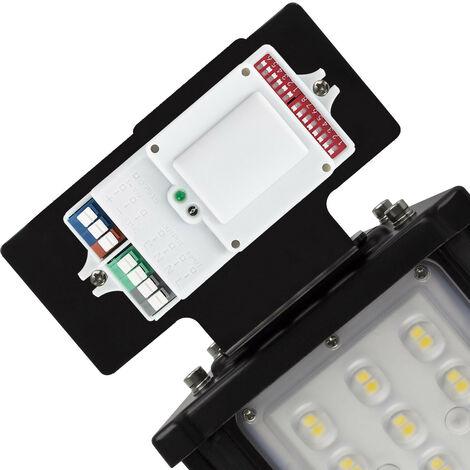 Kit Base + Sensor de Movimiento para Campanas Lineales MEAN WELL Regulable Negro