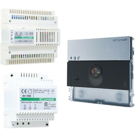 Kit básico del sistema de audio y video Comelit Ultra Simplebus 1 UT8000