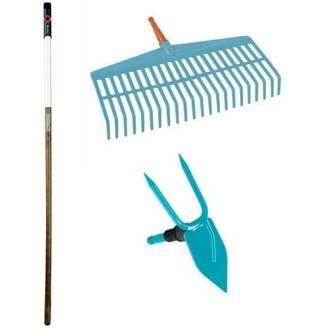 Kit basique pour jardinage de sol combisystem Gardena 3086-20