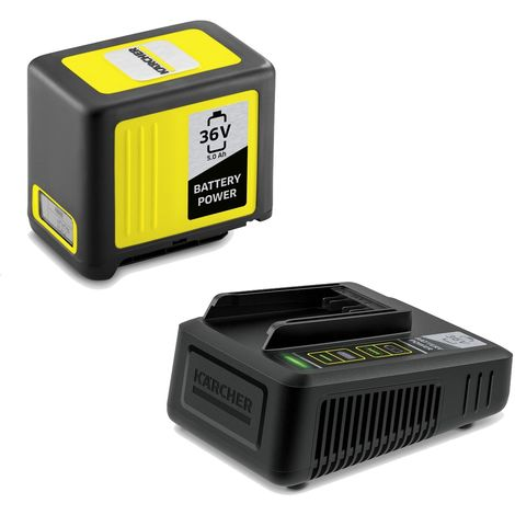Kit batterie et chargeur Karcher 36V et 5.0 Ah