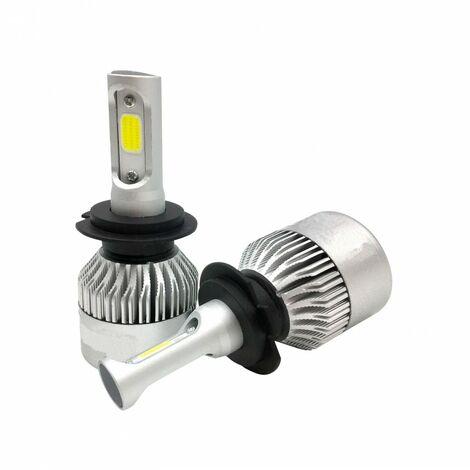 KIT Bombillas LED COB H3 20W para coche o moto Blanco Frío 6000K