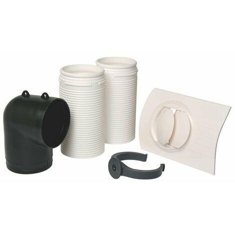 Kit bouche autoréglable Bap'Si Modulo - Sanitaire - Sans fût - 30 m³/h - Optiflex