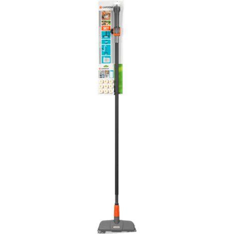 Kit brosse de nettoyage pour terrasses