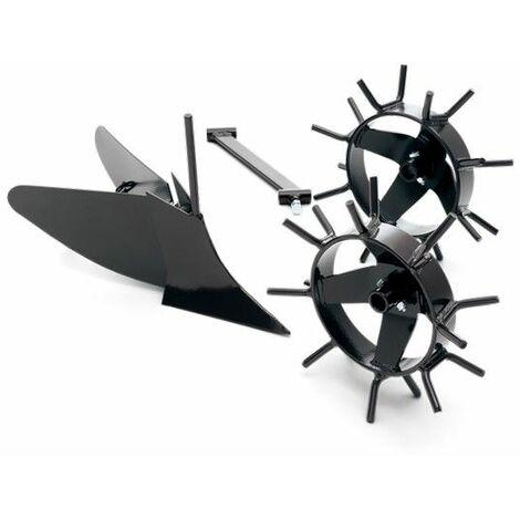 Kit butteur avec roues métal motobineuse Husqvarna
