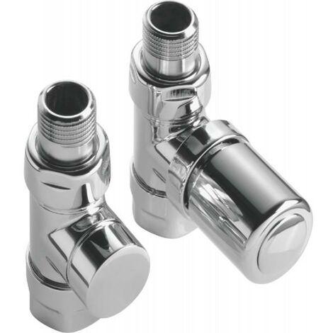 Kit C robinetterie manuelle droit chromé - ACOVA 991378